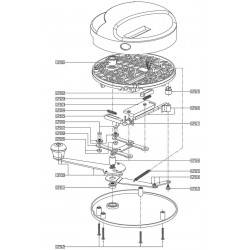 Gambler Red Round Machine Schematic